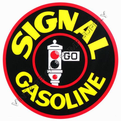 """DC172E Signal Gasoline 9/"""" Vinyl Decal"""