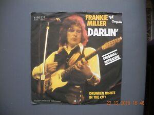 """Vinyl Single 7""""--FRANKIE MILLER - Darlin - Drunken Nights In The City--1978 - Düsseldorf, Deutschland - Vinyl Single 7""""--FRANKIE MILLER - Darlin - Drunken Nights In The City--1978 - Düsseldorf, Deutschland"""