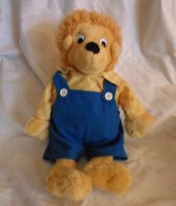 "Berenstain Bears Papa Bear Storybook Classroom 17"" Plush Soft Toy Stuffed Animal"