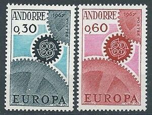 Other European Stamps 1967 Europa Andorra Francese Mnh ** Ev Refreshment Europe