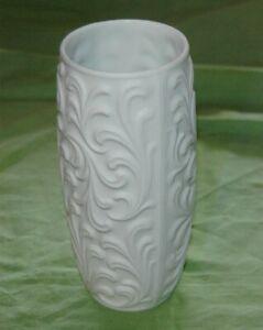 Wunsiedel-Porzellan-Vase-Bisquittporzellan-Blumenvase