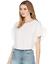 miniature 2 - JOIE Febronia Ruffle Sleeve Top White Size M 84958