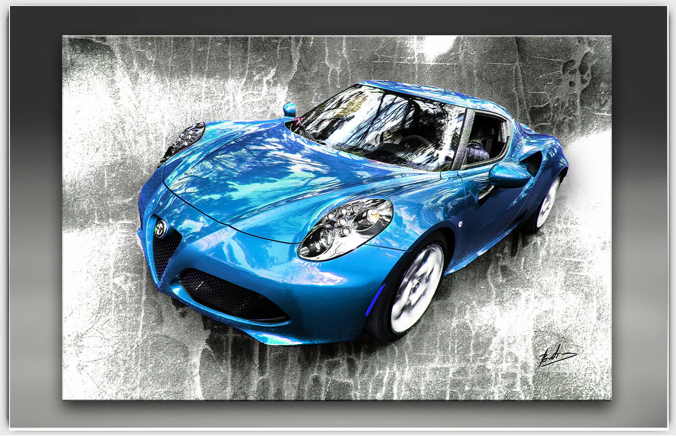 Alfa Romeo DECO c4 Voiture de sport voiture toile images DECO Romeo PEINTURES MURALES Modern 1995 A 2e27ff