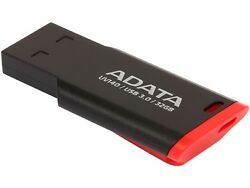 ADATA USA UV140 32GB USB 3.0 Flash Drive (Red/Black)