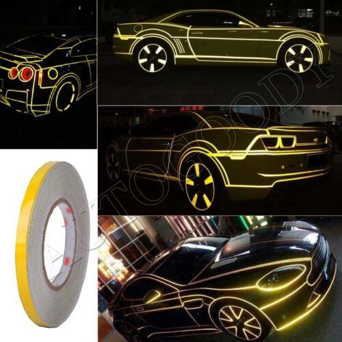 Reflective Body Stripe Sticker DIY Tape Self-Adhesive 150 feet Roll