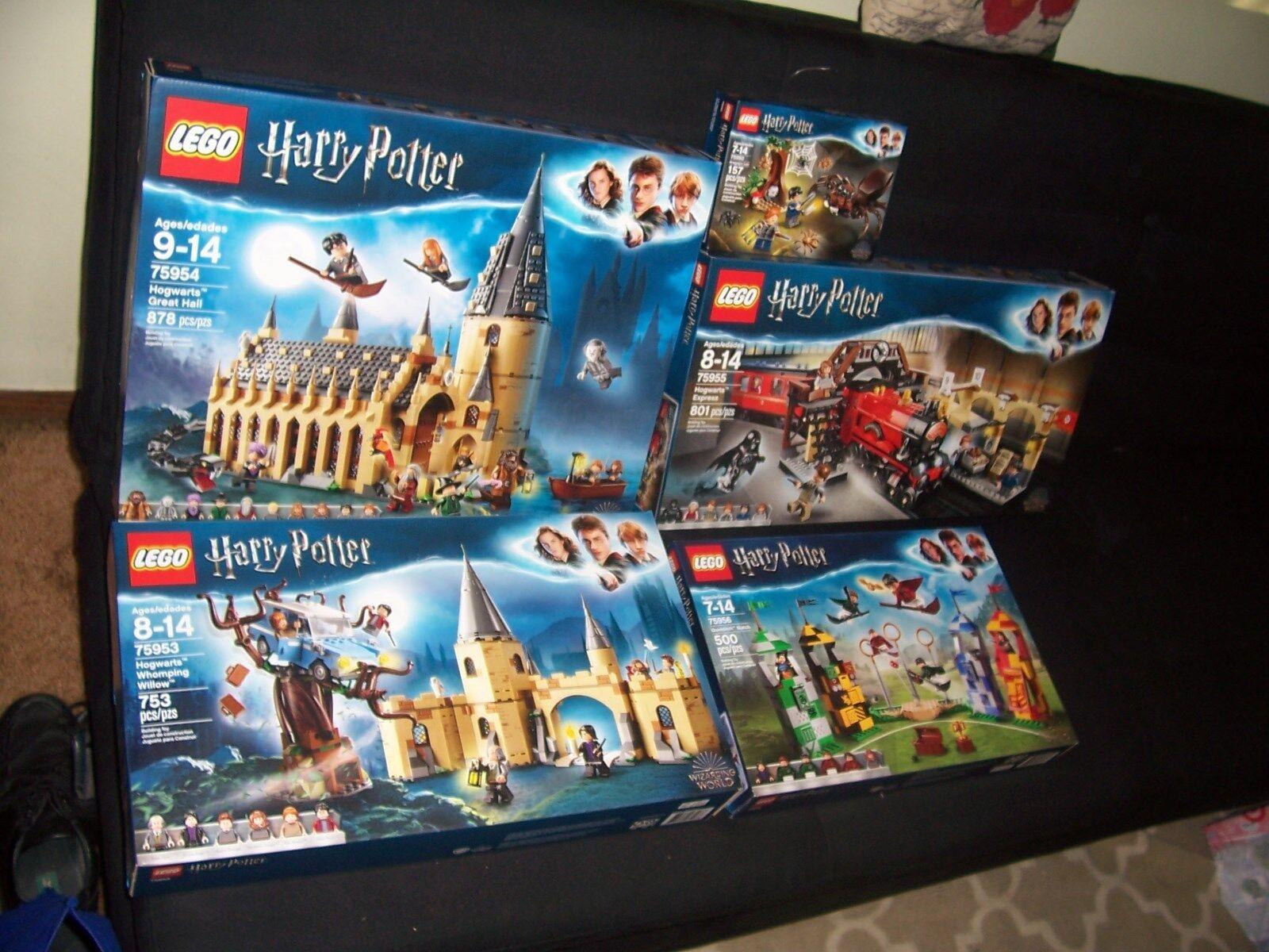 5 lego harry potter 2018 sets sets sets all factory sealed nib b86eaa