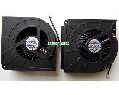 New For MSI GT62VR 16L1 16L2 CPU Cooling Fan PABD19735BM 0.65A 12VDC N322