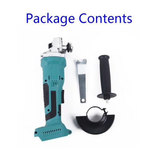 For Makita 18 V 100mm Brushless Cordless Winkelschleifer Body Bare ohne Batterie