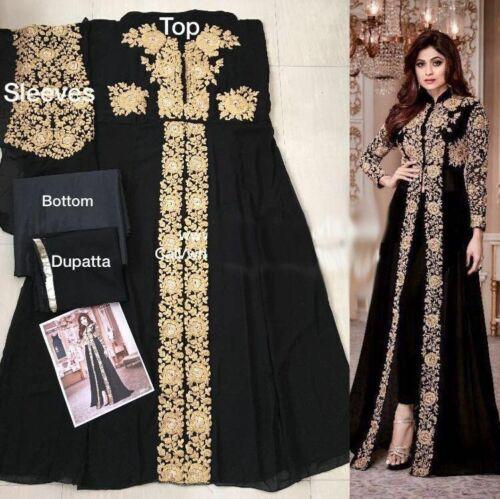 Designer Bollywood Salwar Kameez indian Anarkali Suit dress ethnic Salwar Suit M