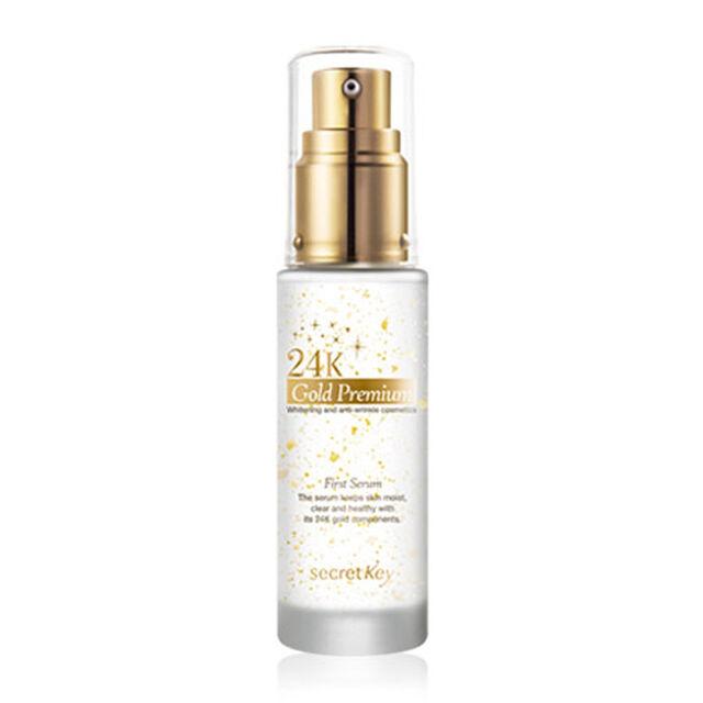 [SECRET KEY] 24K Gold Premium First Serum 30ml - BEST Korea Cosmetic