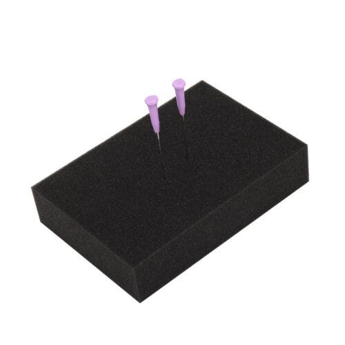 Pin de aguja almohadilla de espuma densa Cojín Manta titular inserción Spong Felting tool craft