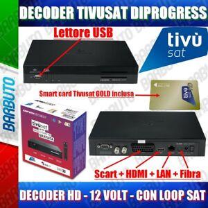 Dec-Tivusat-HD-tivuON-dCSS-DiProgress-inclusa-Smart-Card-Gold-Tivusat-HD