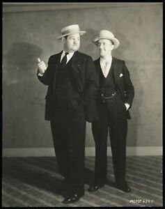 Stan-Laurel-amp-Oliver-Hardy-1929-Hollywood-Type-1-Original-Photo-Crystal-Clear