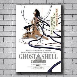 New Ghost In The Shell Anime Movie Custom Poster Print Art Decor T 327 Ebay
