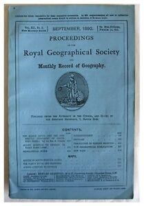 1890-Persia-LURISTAN-to-ISPAHAN-KARUN-RIVER-TWO-LARGE-MAPS-9