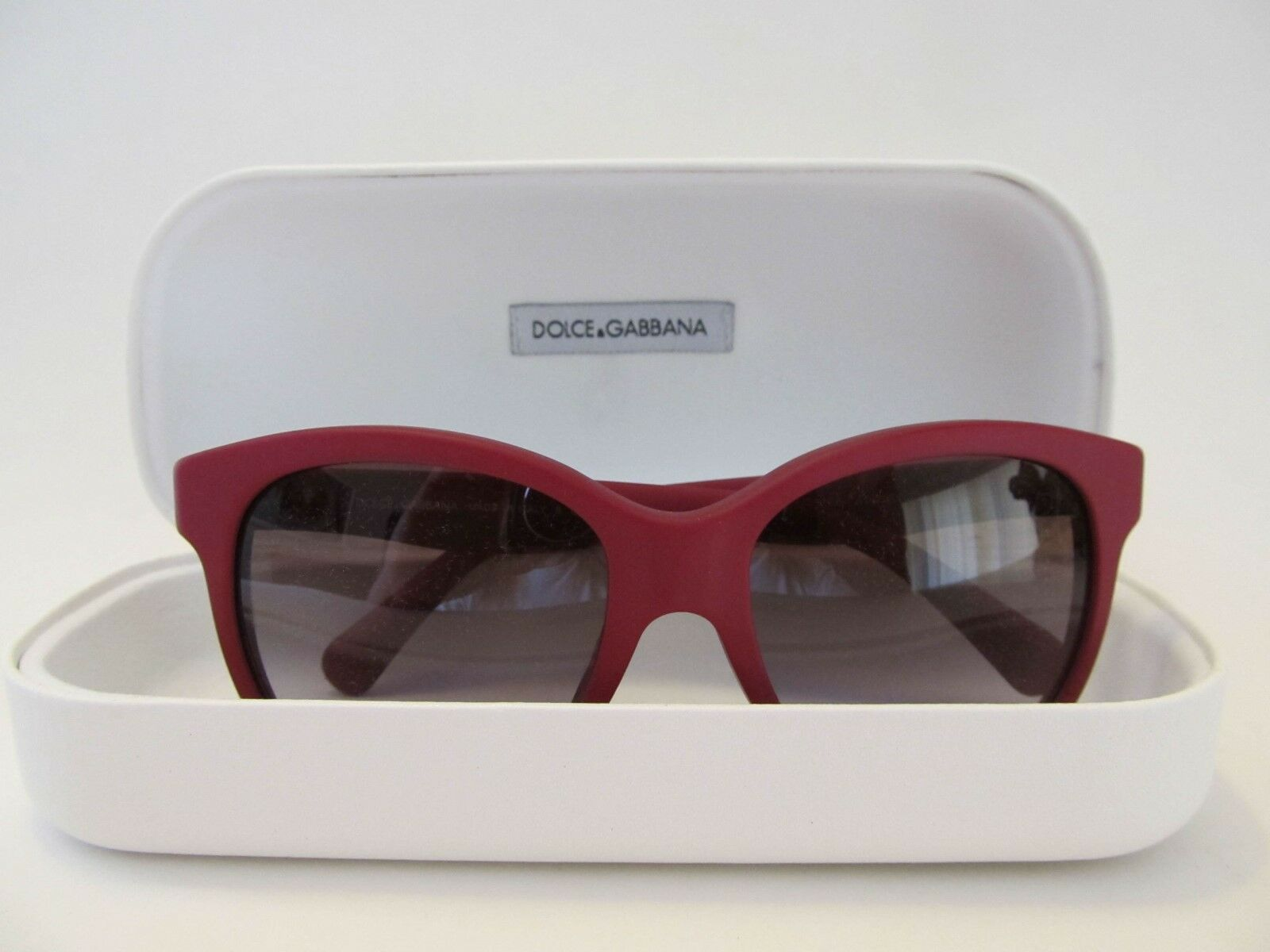 Authentic Dolce & Gabbana Unisex Sunglasses Cat Eye MSRP Made in Italy