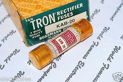 1pcs BUSSMANN KAB-8 8A TRON Rectifier Fuse