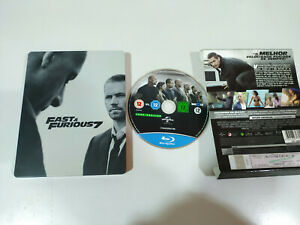 FAST-amp-FURIOUS-7-BLU-RAY-STEELBOOK-EXTRAS-ESPANOL-ENGLISH-VIN-DIESEL-THE-ROCK