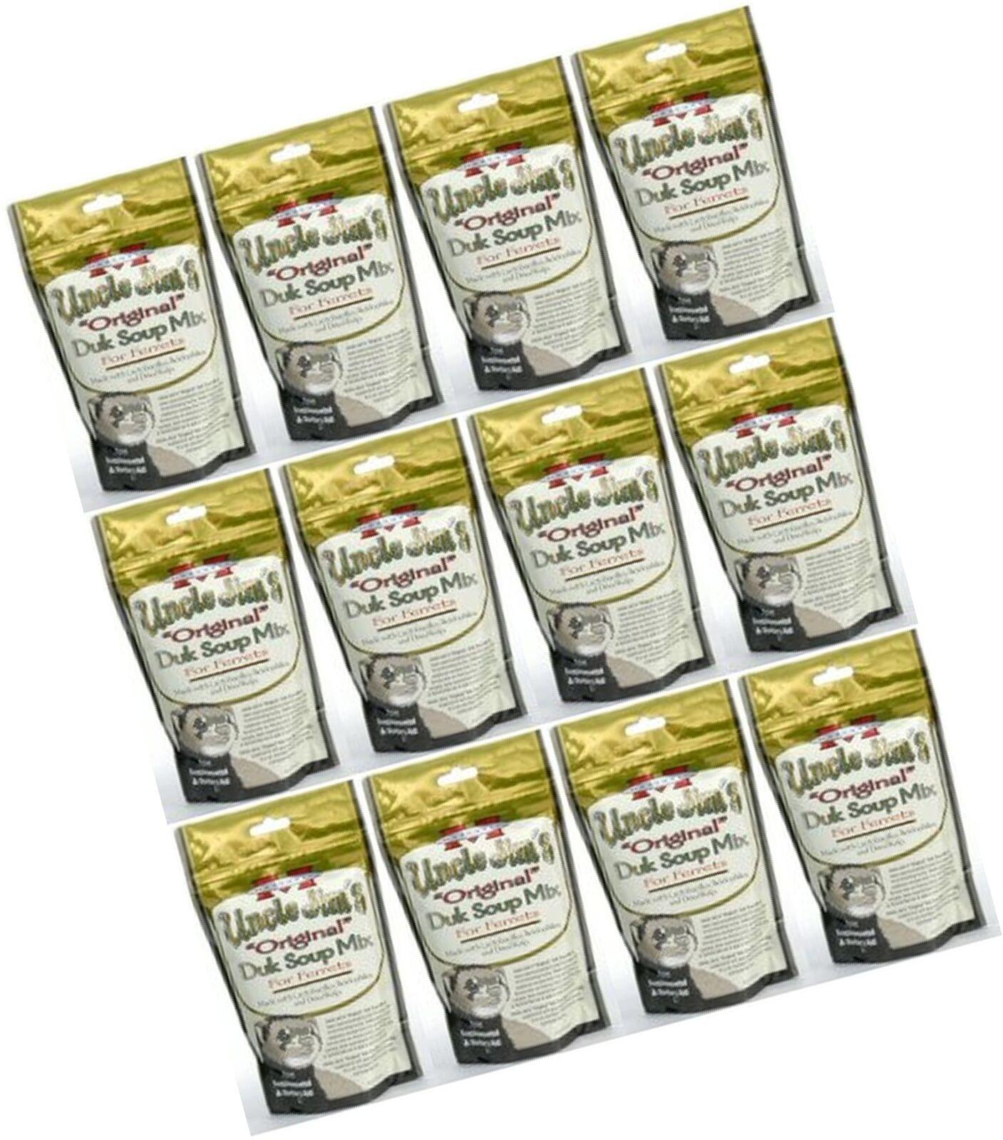 Marshall Uncle Jim's Original Duk Soup Mix for Ferrets 3.375Lb (12 x 4.5oz)
