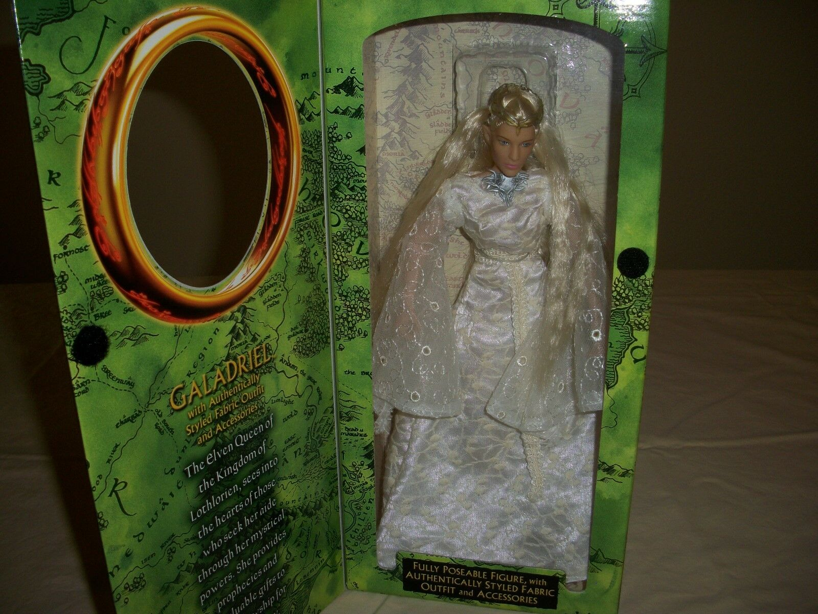 Lord of the Rings, The Fellowship of the Ring Galadriel, Édition Spéciale Collector Series doll