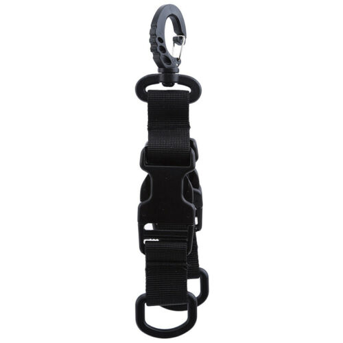 Hot Sale Carabiner Belt Hook Protective Tactical Rotation Hang Waistband Loop LE