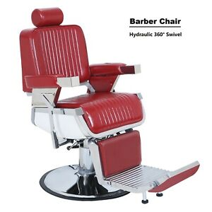 Remarkable Details About Red Adjustable Headrest Barber Chair Hairdressing Chair Hydraulic Shop Chair Lamtechconsult Wood Chair Design Ideas Lamtechconsultcom