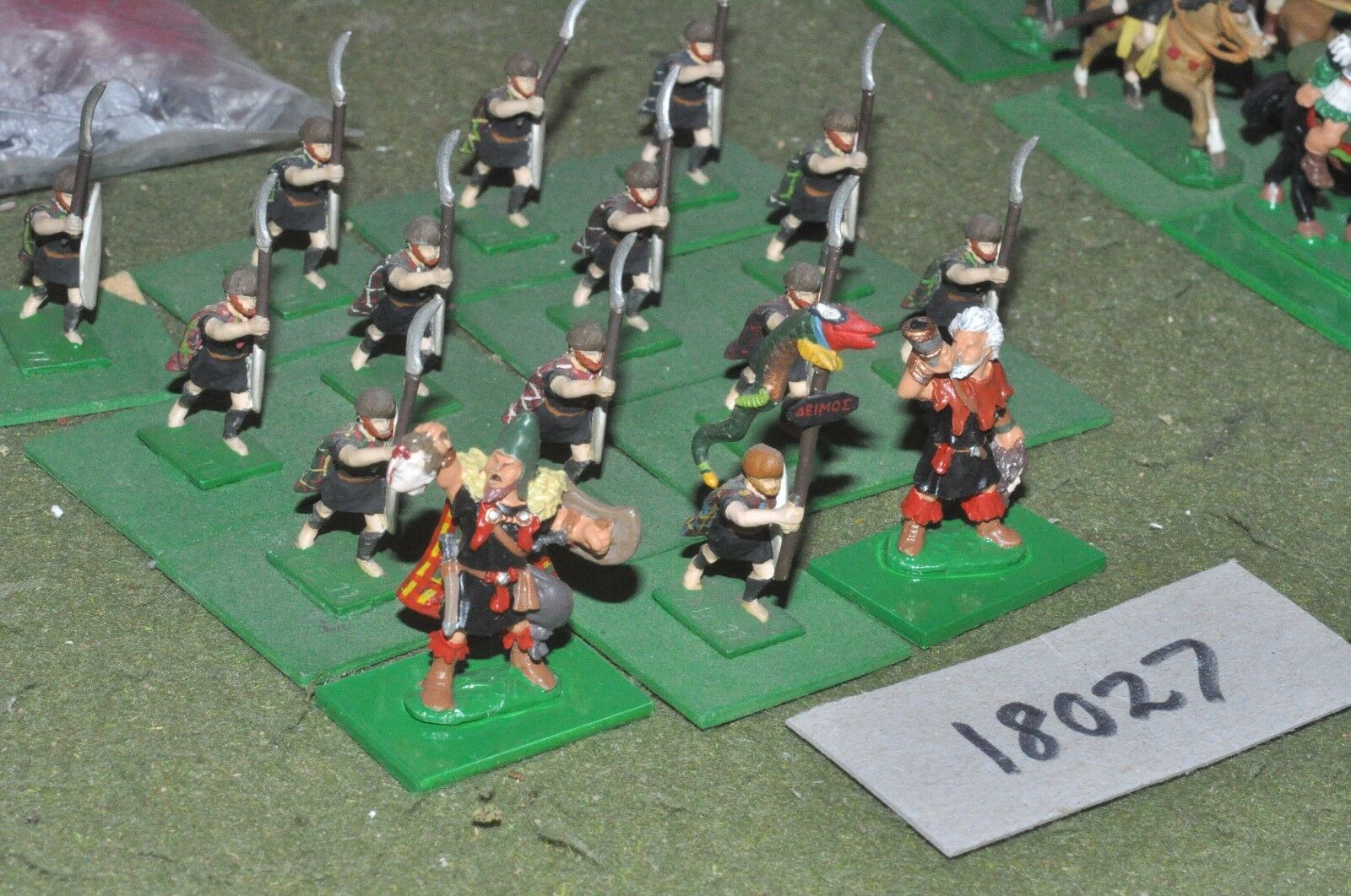 25mm classical   thracian - infantry 15 figs - inf (18027)