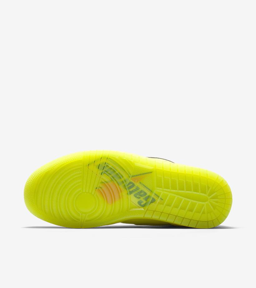 2018 Nike Air Jordan 1 Retro High OG Gatorade Cyber Yellow Size 7.5. AJ5997-345