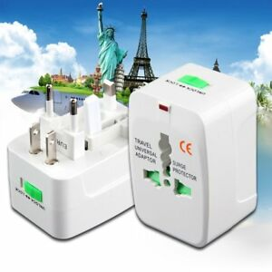 All in One International Travel Power Charger Universal Adapter AU/UK/US/EU SU