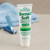 Miracle Of Aloe Toenail Soft Temporary Nail Softening Cream -1 Oz