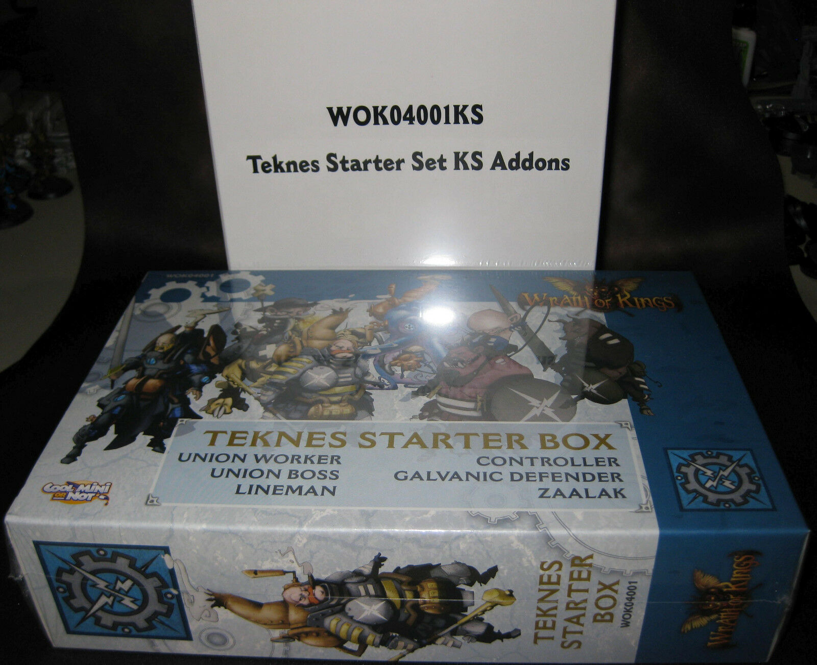 Wrath of Kings Teknes Starter Box plus Stretch Goals SEALED