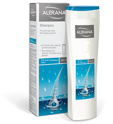 ALERANA Shampoo for Oily and Сombined hairs prevent hair loss stimulates growth