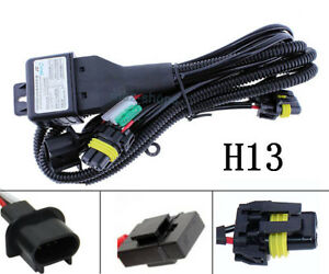 Details about 1Pcs 9008 H13 New Relay Wiring Harness W/ Fuse For HID on