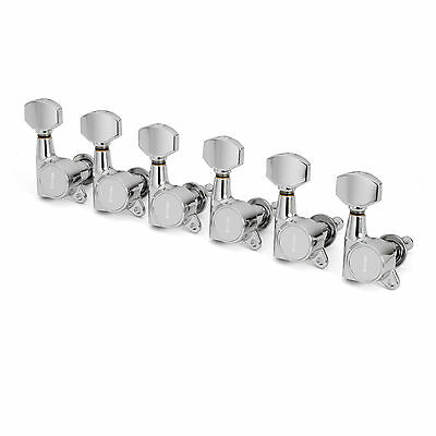 Gotoh Schaller-style Knob Chrome Tuners 6-in-a-line