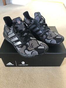 meet 682da 1257d Details about adidas Ultra Boost 4.0 Bape Camo Black UK 10 US 10.5 BNIB
