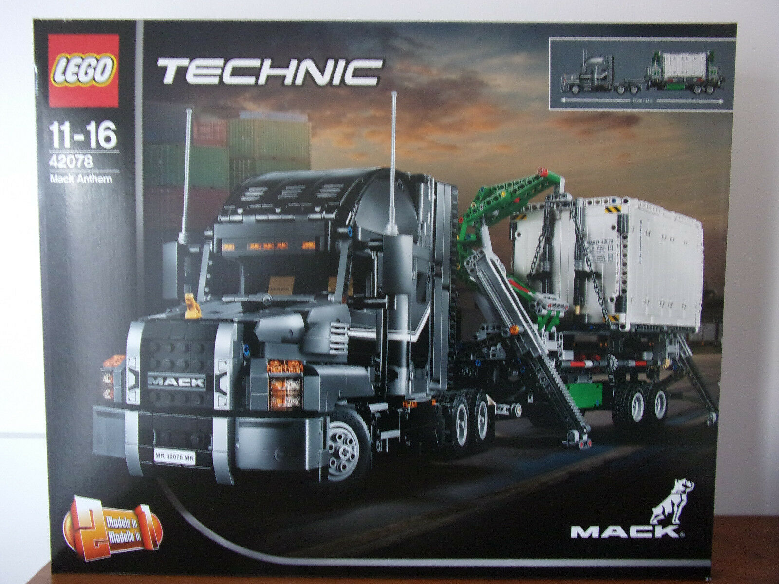 Lego Technic 42078 Mack Anthem (2 en 1) - Nuevo y Emb. Orig.