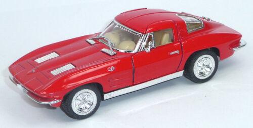 1963 Chevrolet Corvette Sting Ray colector modelo 1:36 rojo por nuevos productos KINSMART