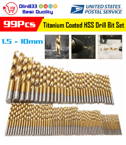 "6.5mm Twist Drill bits Metric High speed steel hs hss 6.5 mm 4/"" 2 Long"