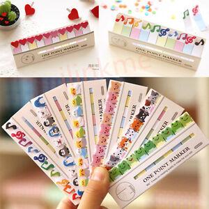 Cute-Cartoon-Animals-Sticker-Bookmark-Point-It-Marker-Memo-Sticky-Notes
