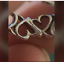 thumbnail 3 - Tiffany & Co Picasso Loving Hearts Band Ring Vintage, Rare, Sterling Silver Sz 7