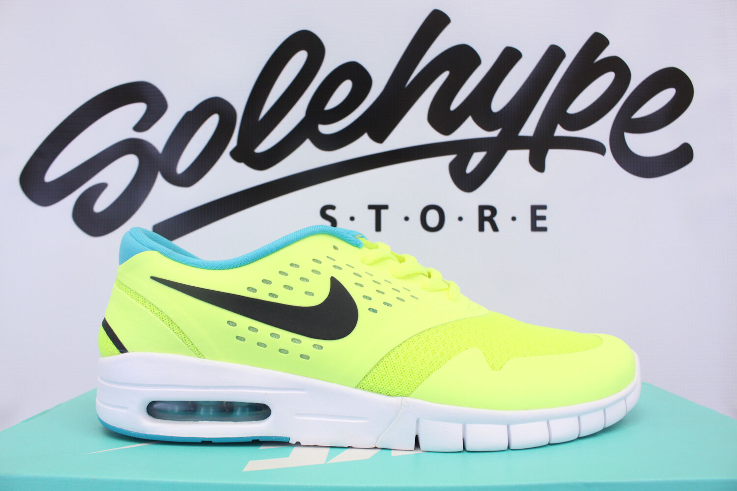 NIKE ERIC KOSTON 2 MAX SB VOLT BLACK DUSTY CACTUS 631047 703 Price reduction The latest discount shoes for men and women Comfortable and good-looking