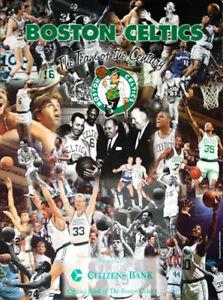 dbde4a1ab Boston Celtics TEAM OF THE CENTURY 1946-99 All-Time Legends ...