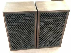 SANSUI-SP-LE8T-Speaker-Speakers-Pair-Set-Vintage-Used
