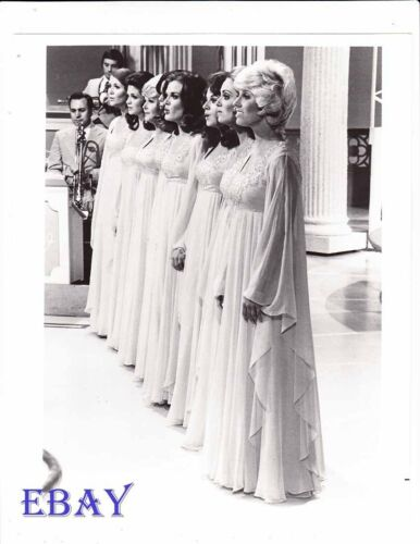Busty Babe's Lawrence Welk Show VINTAGE Photo