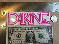 Dakine Pink Sticker Decal Free Shipping