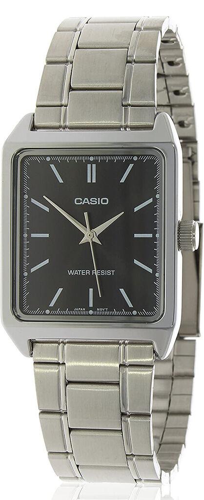 Casio Men's Analog Quartz Black Dial Stainless Steel Watch MTPV007D-1E   Ebay