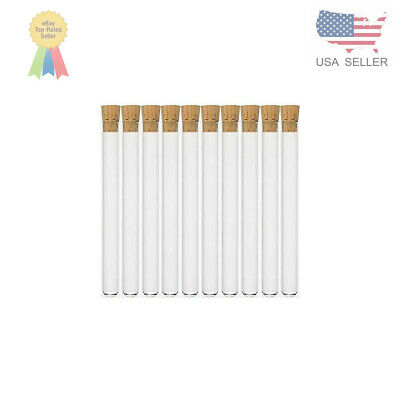 20X150mm Glass Test Tubes with Cork Stoppers and Brush Pack of 20 Karter Scientific 212W6