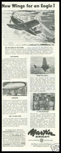 1948 vintage ad for Martin Aircraft