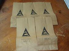 5 Vintage Advertising Parts Bag Allis Chalmers Parts Lot 5