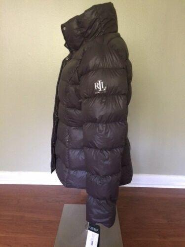 Lauren S Jacket Down Puffer leggero L Winter Women Ralph Sz Coat Polo Peso UPpUxd